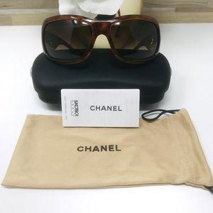 Chanel Accessories - Chanel | Brown Tortoise Sunglasses - 6018